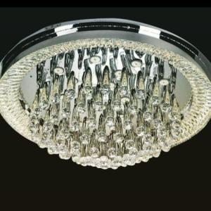 Modern Raindrop flush Chandelier