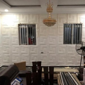 Paintable 3D Wallpanel 03