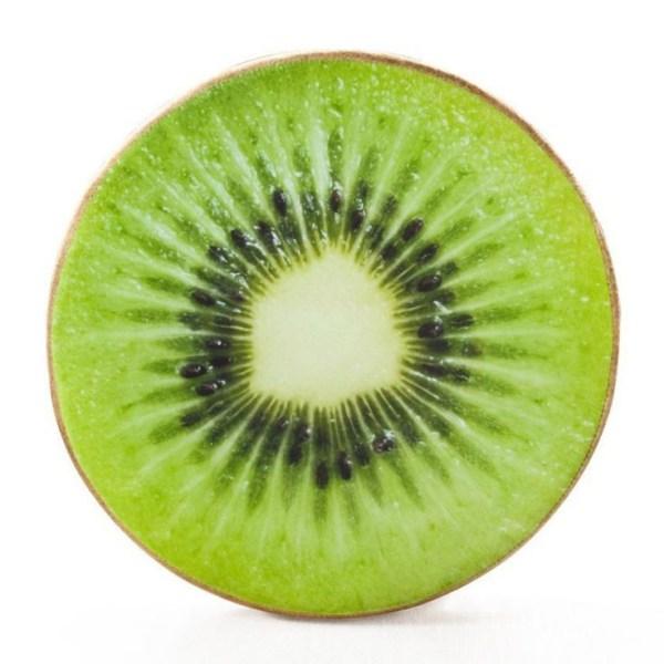Throw Pillow - Kiwi Fruit Slice Throw Pillow, Fruit Slice Cushion, Fruit design throw pillows