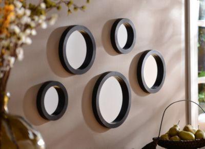 Wall mirrors, black framed wall mirrors, living room mirrors, oval wall mirror, large round mirror, mirrors