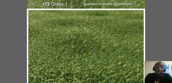 Screenshot Grass tutorial