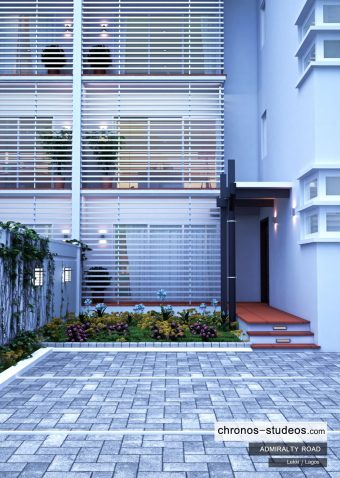 Lagos-Luxury-Home-Admiralty-Road-exterior-3D-visualization-by-Chronos-Studeos-Luxury-Home-and-car-in-Lekki-in-Lagos-Nigeria (2)