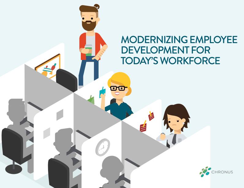 Modernizing Employee Development Ebook Chronus