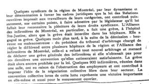 Extrait du procès-verbal du congrès de la CSN, 1964, page 225