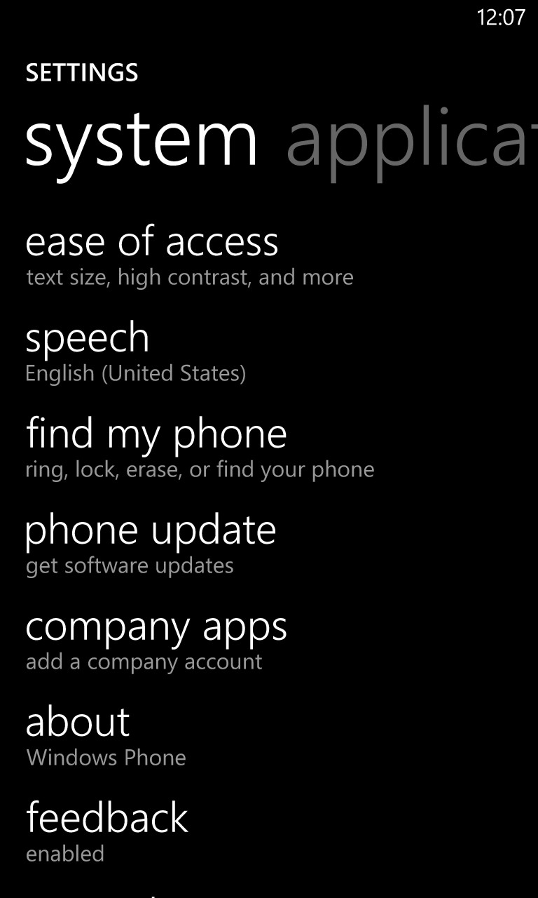 how to find my phone number on windows phone
