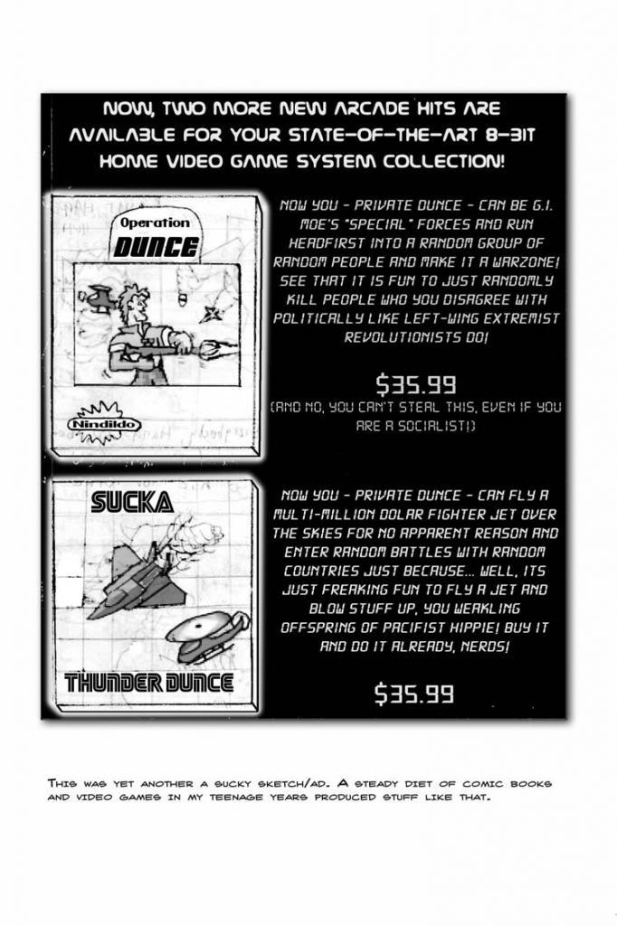 1980's Video Game Fun! 8-Bit War Games! Wahoo!   ChrusherComix Classics #2 (1988)