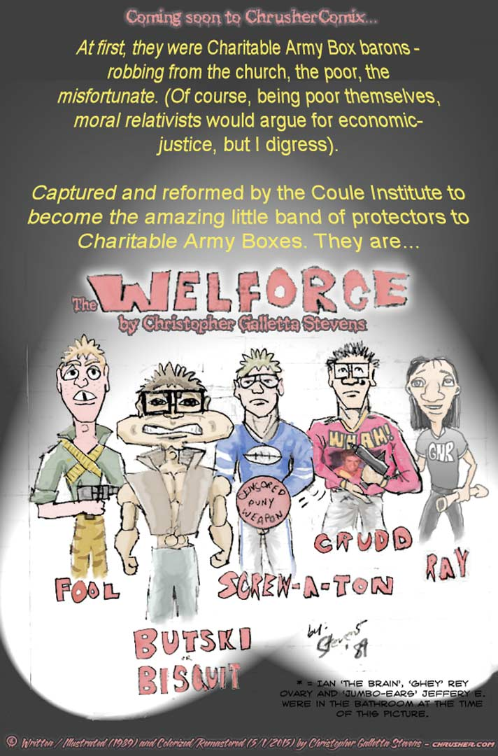 Welforce™ Is Coming. | The Mighty Crusher Comics