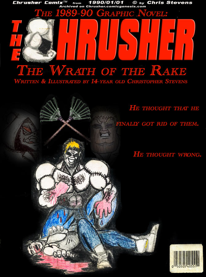 The Wrath of the Rake | Chrusher Comics Year One – Annual Finale (Original from 1989)