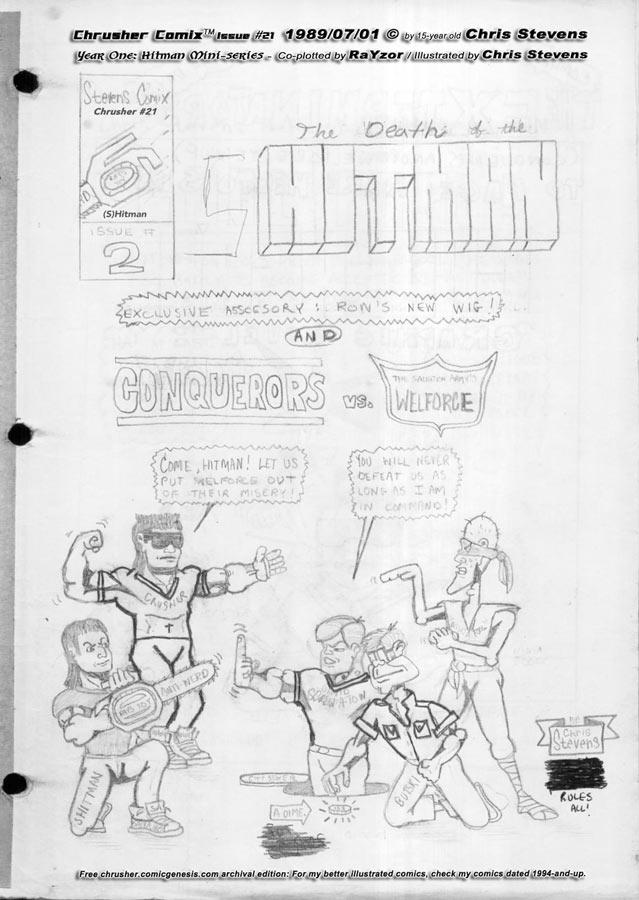 Welforce vs. Conquerors: The Last Battle(?) | Crusher Comics #9