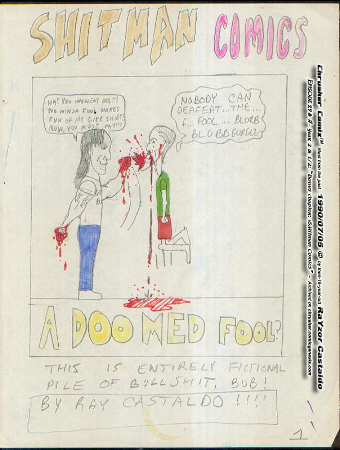 CANON FAN ART A Doom Ed Fool
