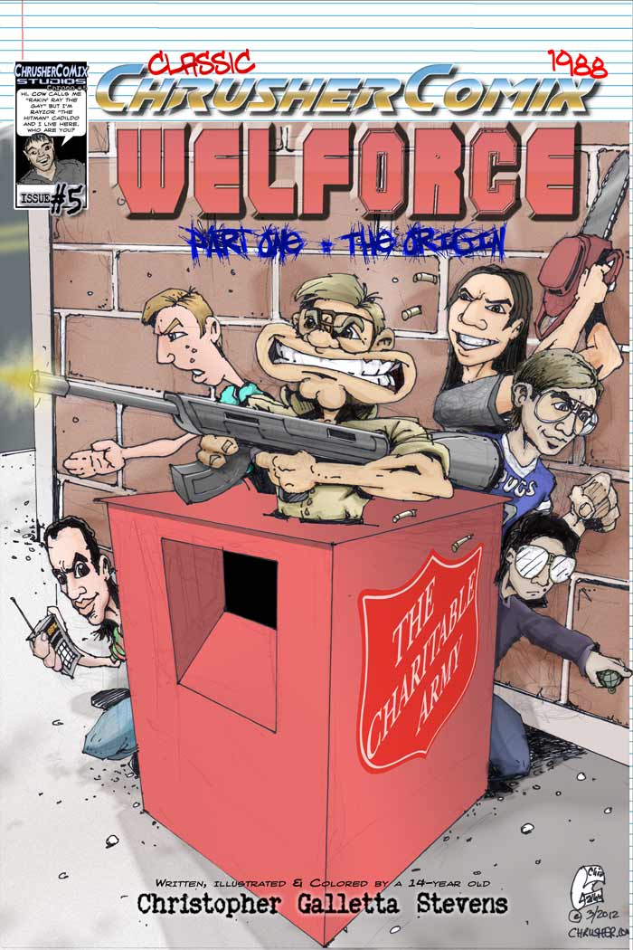 Welforce™, The | Classics #5 – 20th Anniversary Cover (1989 – 2009)