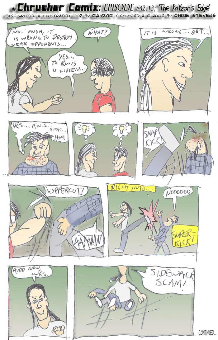 "CANON FAN ART: ""No, It is wrong to defeat weaker opponents."" | RaYzor's Edge #1"