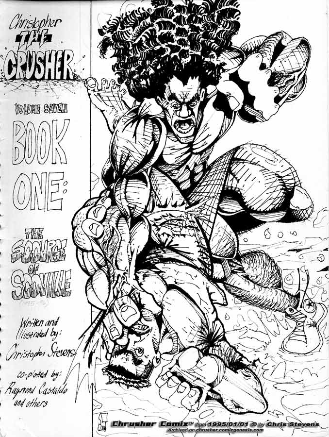 THE RETURN OF THE CRUSHER (Uncolored version)
