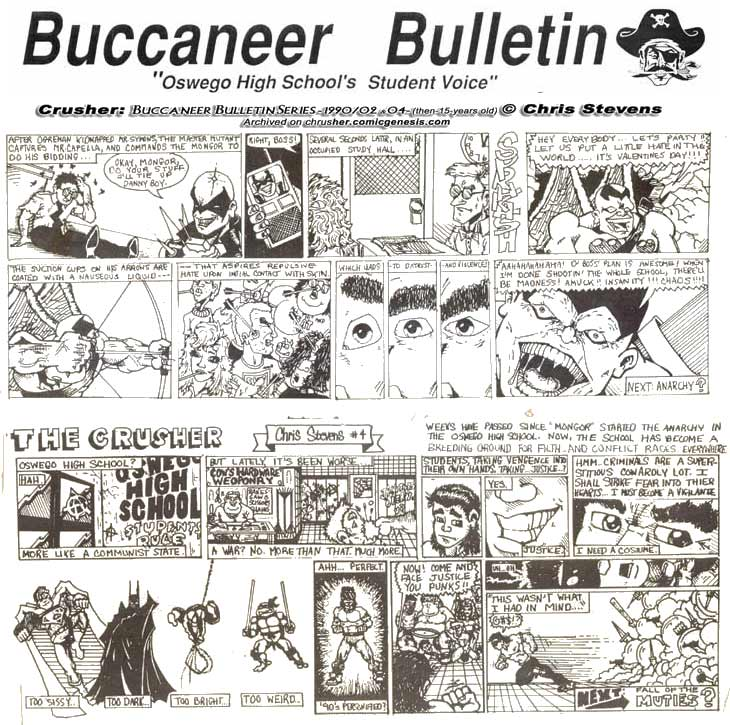 Buccaneer Bulletin Series: Mutant Mobsters Take Over OHS (pts. 3 & 4; 1989-90)