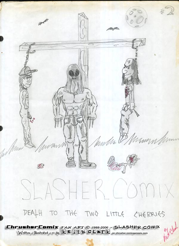 CANON FAN ART Keith Clarks Slasher Comics 2 The Death Of The Little Cherries