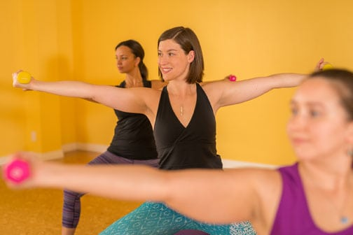 Barre and Fitness Classes