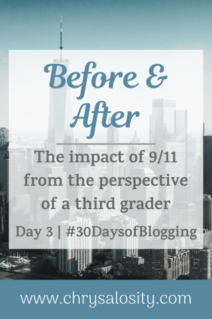 Before & After | Day 3 of 30 Days of Blogging