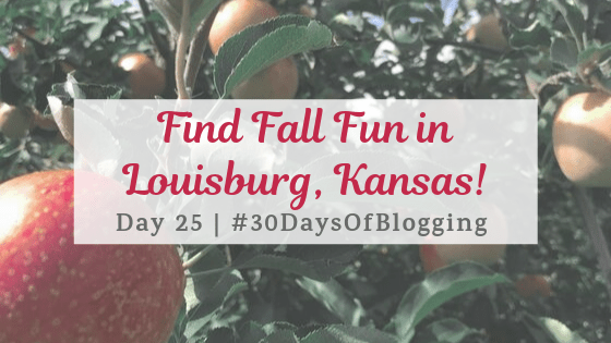 Find Fall Fun in Louisburg, Kansas | Day 25 of 30 Days of Blogging
