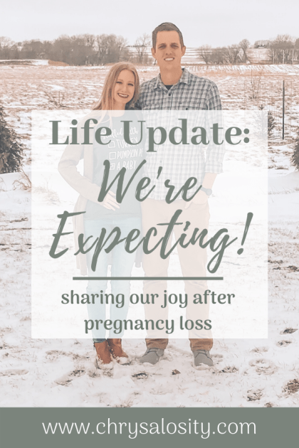 Life Update: We're Expecting!