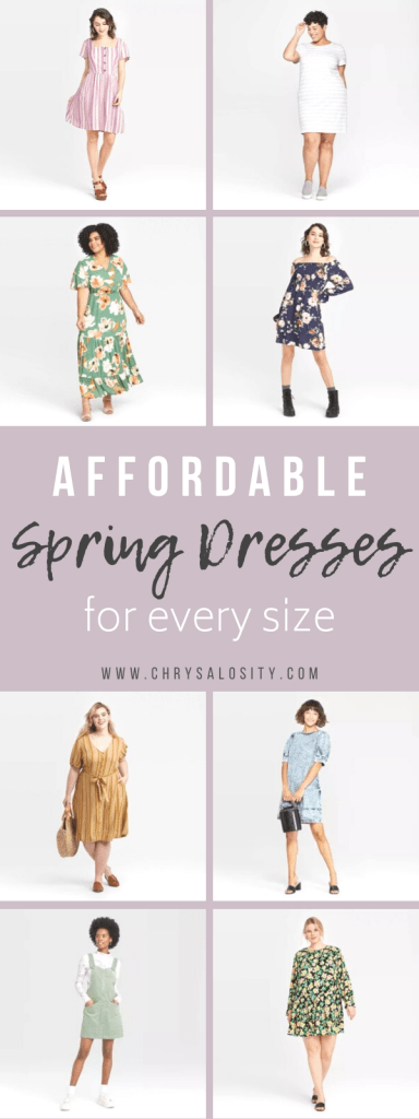 Affordable Spring Dresses for Every Size