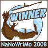 NaNo Winner 2008