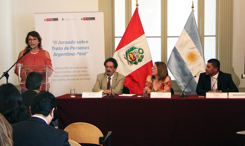 CHS Alternativo participó en la II Jornada sobre trata de personas Argentina – Perú