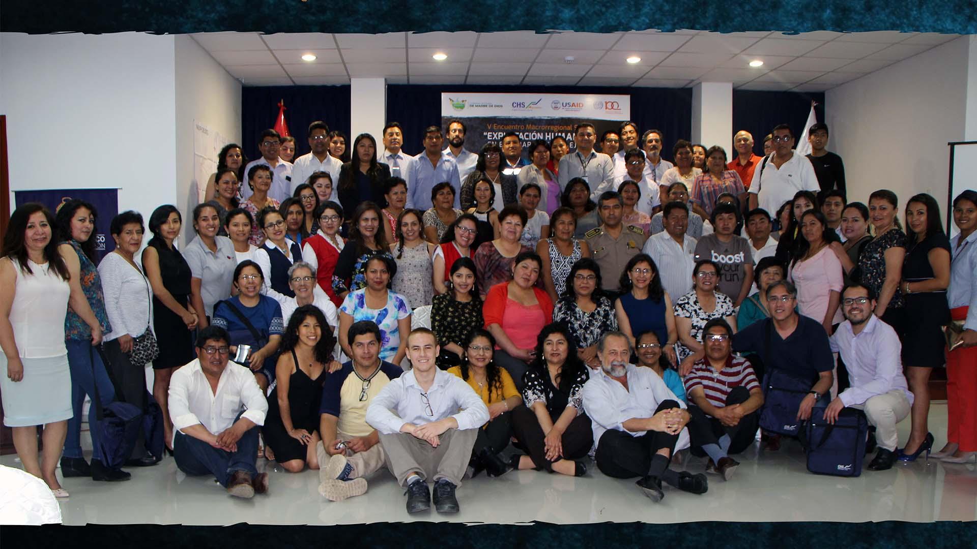 V Encuentro Macrorregional Sur: Trabajo en equipo para combatir la explotación humana y la trata de personas