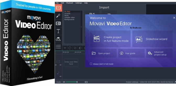Movavi Video Editor Crack Activation key