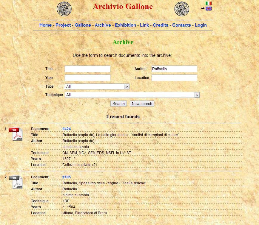 Archivio Gallone