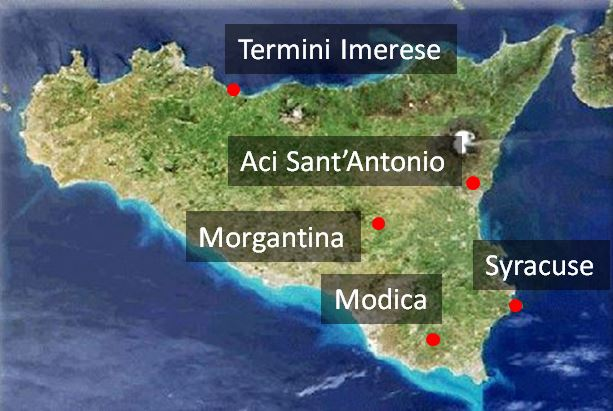 Field projects in Sicily