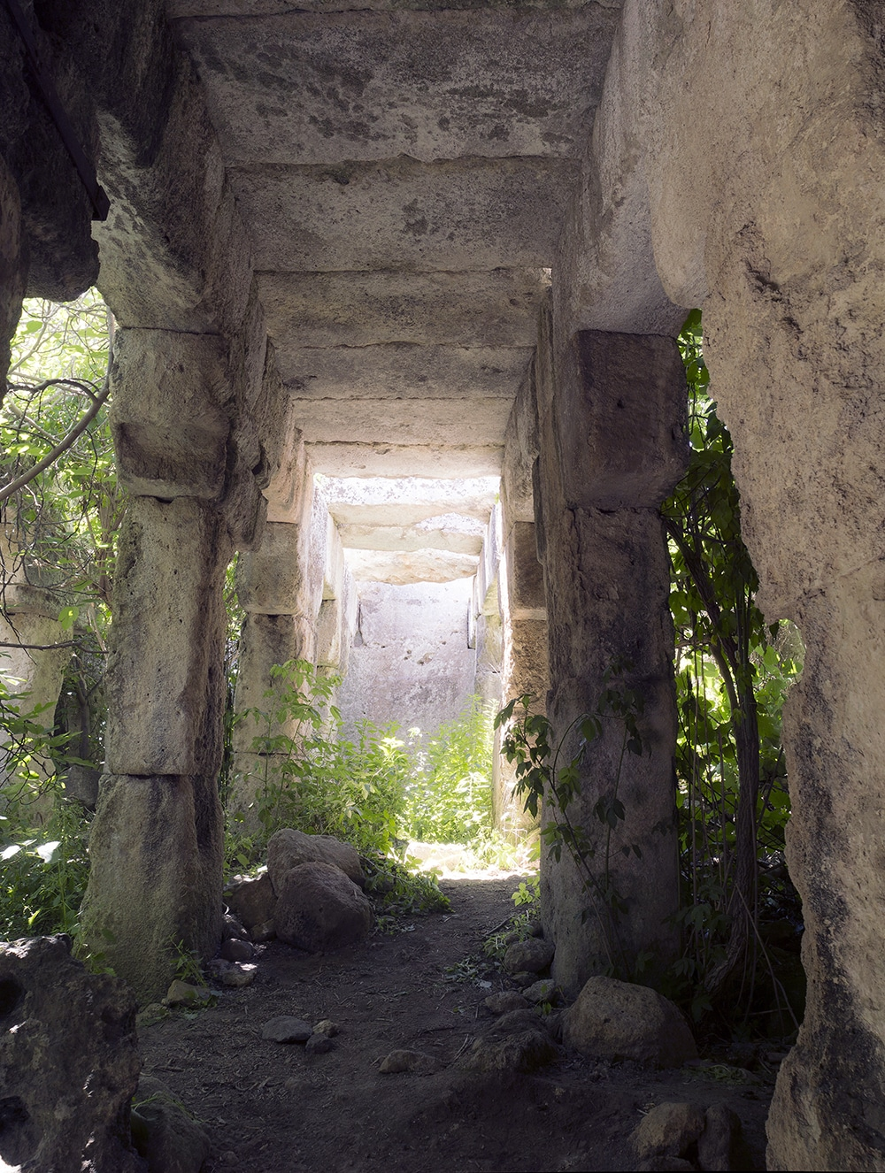 san basilio tempio lentini inside chamber