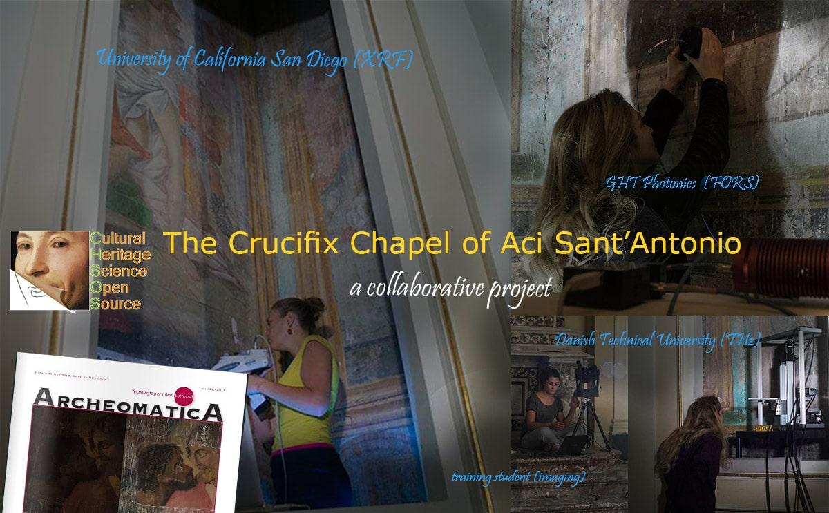 crucifix chapel Aci Sant'Antonio frescoes