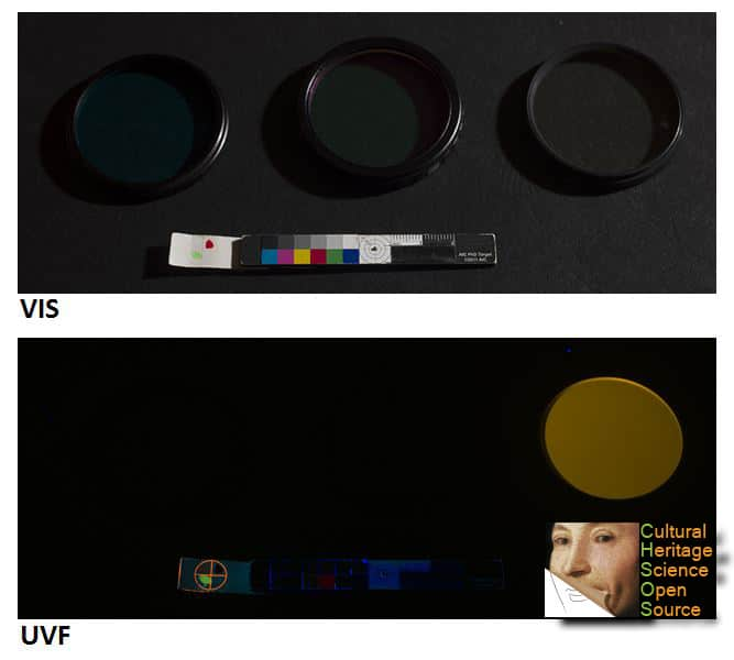 Ultraviolet photography filters