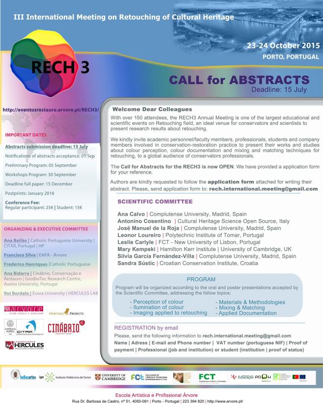 RECH3 call for abstracts