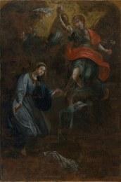 The discovered Annunciation
