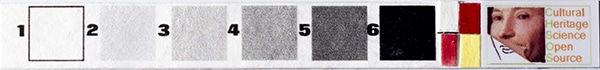 MSI calibration card