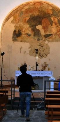 Nunziatella Mascali wall paintings CHSOS 4
