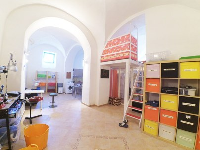 CHSOS Studio in Sapienza Palace (XVIII century) in Viagrande.