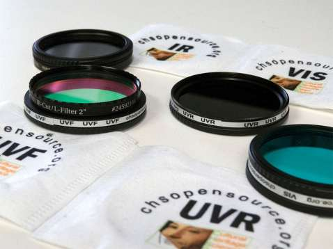 chsos technical photography filters set