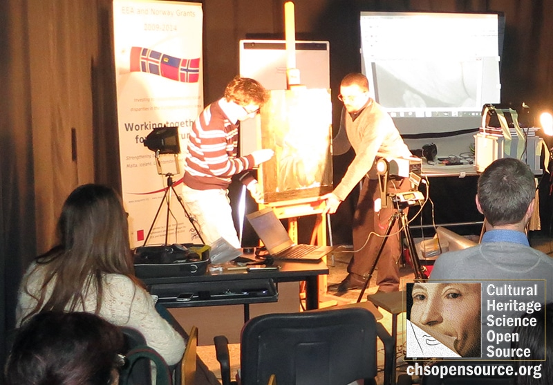 Heritage Malta CHSOS Art Diagnostics Training 2016 2