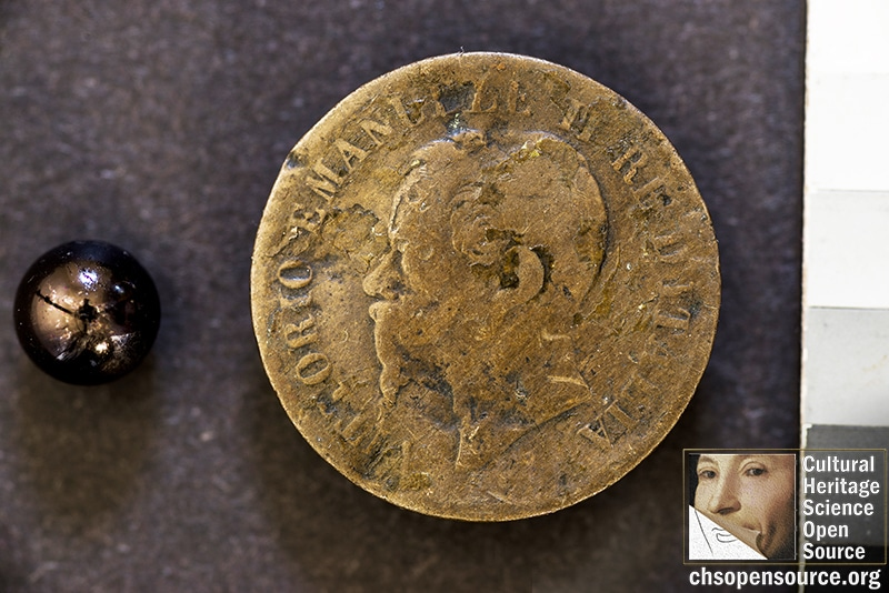RTI photography of ancient coins CHSOS