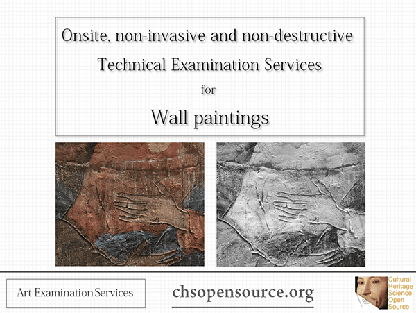 Technical examination services for wall paintings