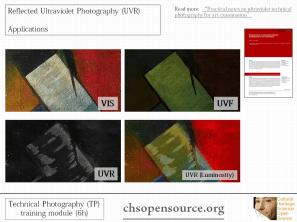 technical photography documentation UVR