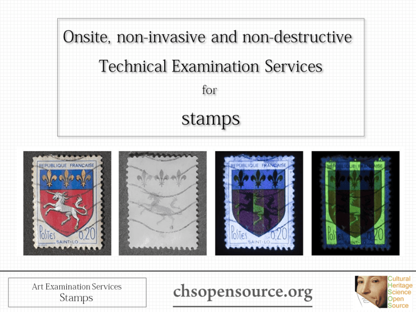 Technical examination services for stamps Slide1