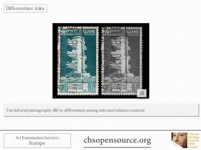 Technical examination services for stamps Slide8