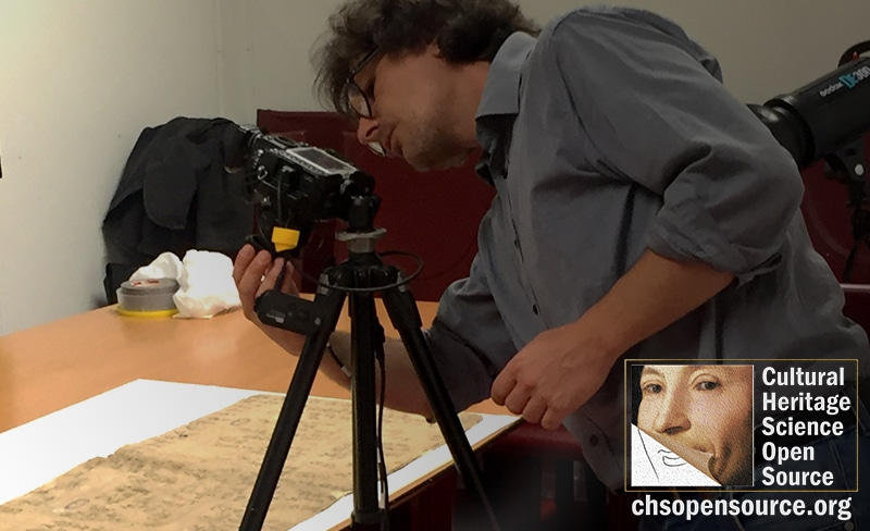 CHSOS performs Technical Photography documentation of the Codex Xolotl and Mapa Quinatzin at the Bibliothèque Nationale de France, Paris.