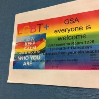 Gay Straight Alliance (GSA)