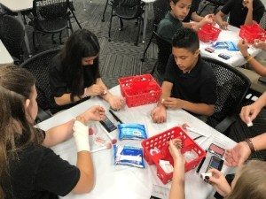 CHSU Health Camp Teaches Sherman Thomas STEM Academy Students About Careers in Health Care