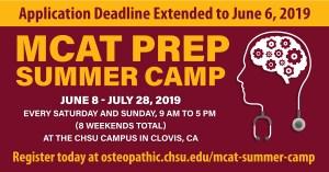 CHSU COM Offers MCAT Prep Summer Camp
