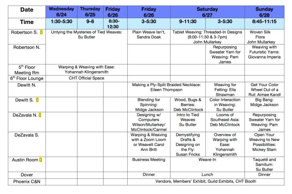 Workshop-Seminar Schedule5